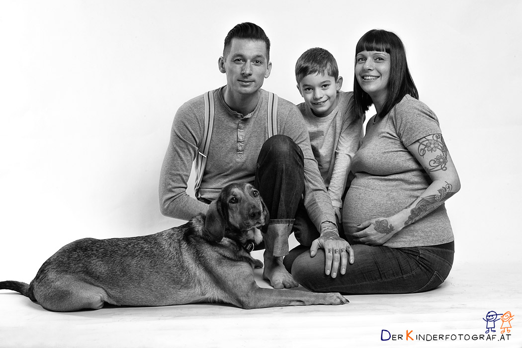 der Kinderfotograf Familienfoto