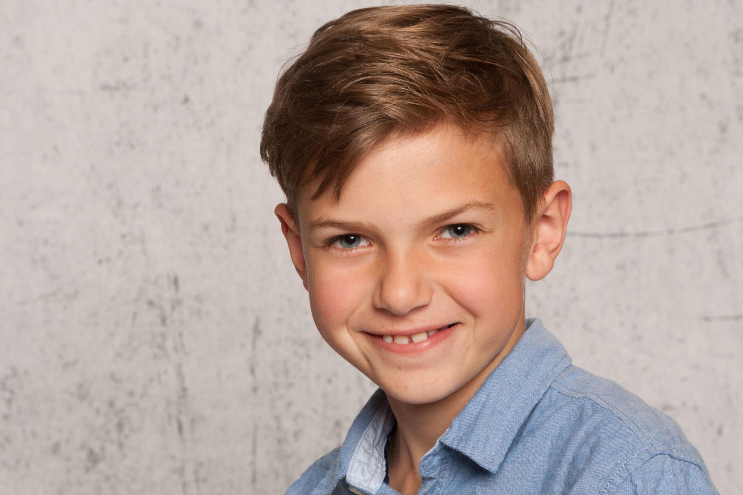 der Kinderfotograf Portrait Junge